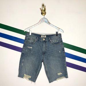 NEW We the Free Caroline cutoff shorts